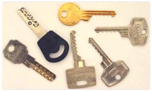 Different bump keys